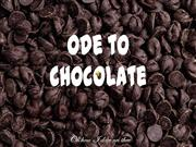Ode to Chocolate