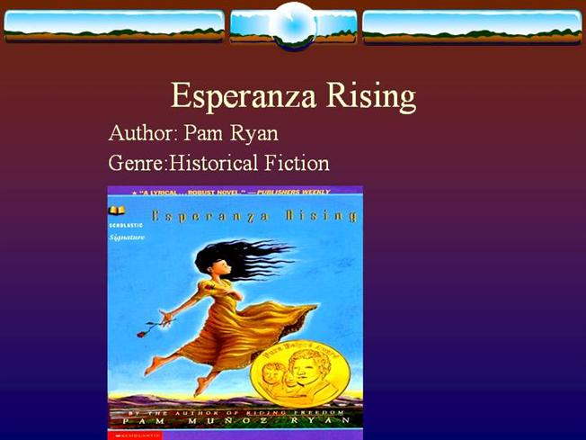 Esperanza Rising Audio Book