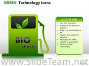CABLES GREEN TECHNOLOGY ICONS POWERPOINT SLIDES