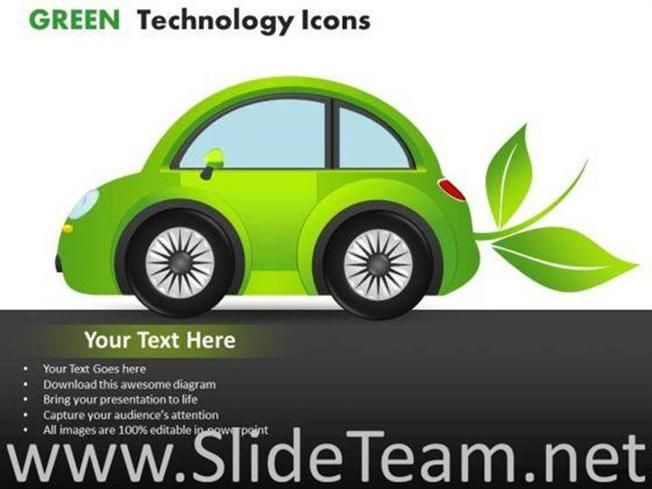 Cars green technology icons powerpoint slides powerpoint diagram related powerpoint templates toneelgroepblik Image collections