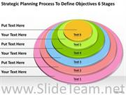 DEFINE OBJECTIVES 6 STAGES PPT SLIDES