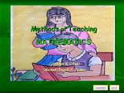 methodsofteaching mathematics