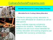 Institutes of Culinary Education for Cooking Art