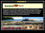 Eastern Sun Tours & Safaris - Best Tour Operators in Arusha Tanzania