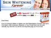 skin whitening bleach