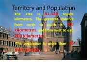 Territory and Population