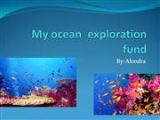 AlondraMy ocean  exploration fund