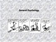 General Psyc - Lecture 2as