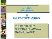 INVENTORY MANAGEMENT PRESENTATION