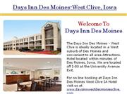days inn hotels in west des moines iowa