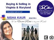 Real Estate for sale in Virginia, Maryland and DC, Nisha Kaur