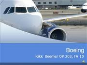 OP303 Boeing Management of Technology