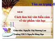 V7 Cach lam bai van bieu cam
