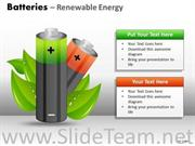 GREEN ENERGY BATTERIES PPT TEMPLATES