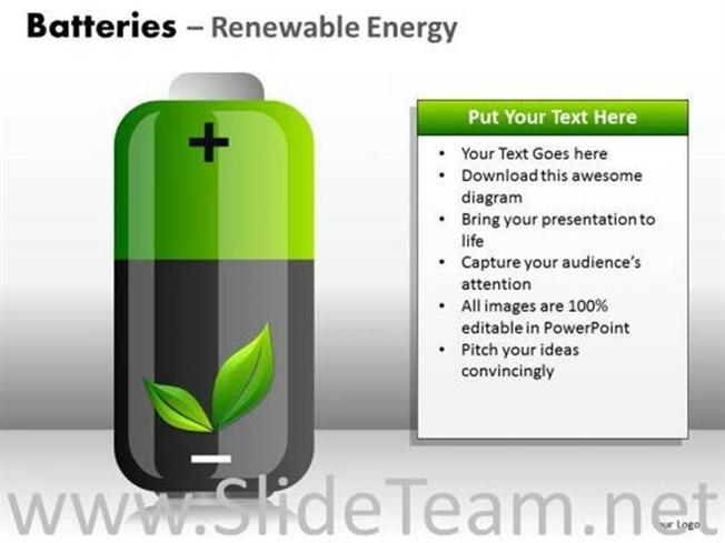 GREEN ENERGY PPT SLIDES-PowerPoint Diagram