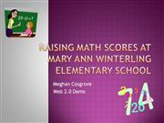 Raising Math Scores at