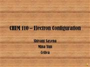 electron configuration shortcut