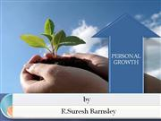 1. PERSONAL GROWTH
