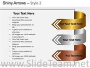 CREATIVE ARROW TEXT BOXES FOR POWERPOINT SLIDES