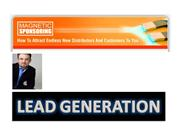 Leads for sales
