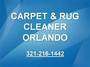 Orlando Carpet Rug Cleaning 321-216-1442 Orlando