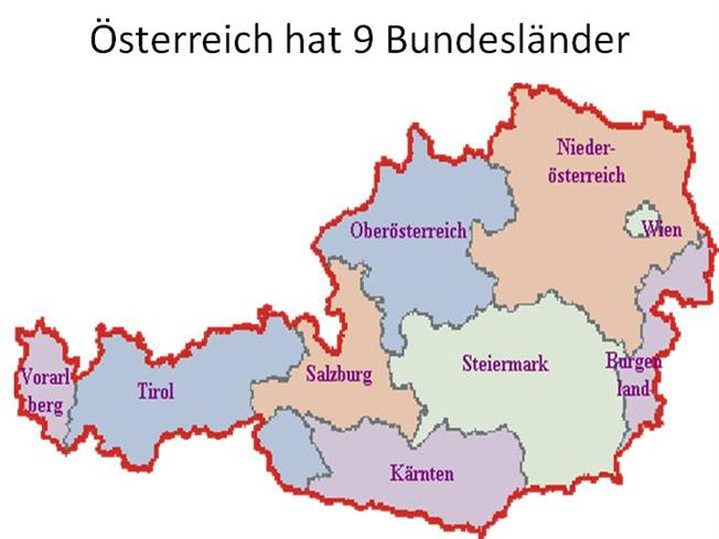 Osterreich Hat 9 Bundeslander Authorstream