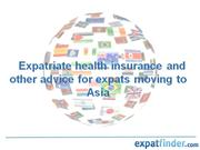 Expatriate health insurance and advice for expats movin