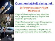 How to Find a Job of Flight Mechanics