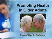 Promoting Health in Older Adults