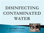 Sci. Proj.- Disinfecting Contaminated Water