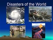 disasters of the world