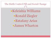 the birth control pill