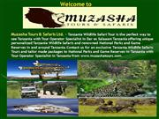 Muzasha Tours and Safaris Ltd  - Tour Operator Specialist in Tanzania