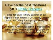 Christmas gifts of tiffany