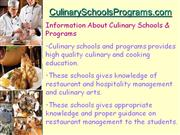 How to Find Best cooking Culinary Schools