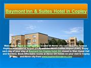baymont inn & suites hotel in copley ohio