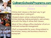 How to Find Tips for Online Chef Classes