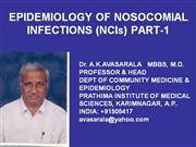 nosocomial infect.