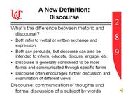 Discourse Introduction