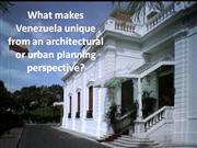 what makes venezuela unique