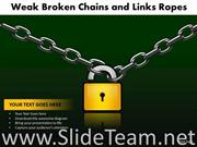 Padlock Holding Chains Safety Theme