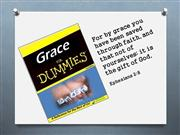 grace for dummys