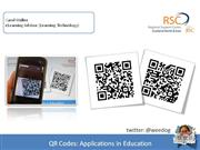 QR Codes Apps in Ed