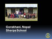Sherpa School Overview