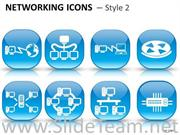 Networking Icons PowerPoint Graphics
