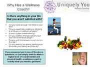uniquely you wellness coaching