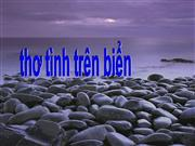 tho tinh tren bien