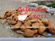 CALENDAR  2011 -Tan Mao lunar calendar - Tibet landscape
