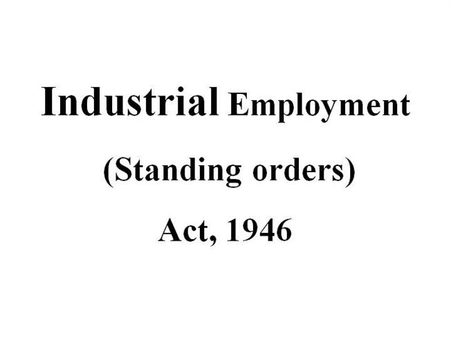 Image result for the industrial employment act 1946 diagram