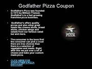 godfather pizza coupon